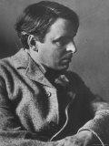 Irish Poet William Butler Yeats Posing for E O Hoppe