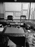 Maps and Furniture in Office That is Part of Suite of the Highest Ranking Officer at the Pentagon
