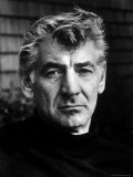 Portrait of Composer/Conductor Leonard Bernstein