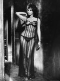 Actress Sophia Loren Costumed in Brothel Scene From the Movie &quot;Marriage Italian Style&quot;