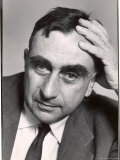 Pensive Portrait of Physicist Edward Teller