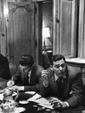 Critic James Agee Attending Life's Round Table Discussion on the Movies