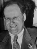 Portrait of Russian Film Director Sergei Eisenstein