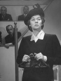 "Rosalind Russell Acting in a Scene from ""Sister Kenny"""