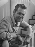 Actor William Holden Smiling for the Camera