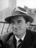Portrait of Gregory Peck  Wearing a Hat