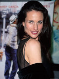 Actress Andie MacDowell