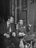 "Orson Welles and Cole Porter Discussing the Stage Production of ""Around the World in 80 Days"""