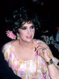 Actress Gina Lollobrigida