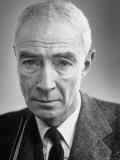 Portrait of Physicist J Robert Oppenheimer