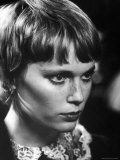 "Actress Mia Farrow During Filming of Movie ""John and Mary"""