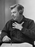 Radio Performer Arthur Godfrey Taking to the Air