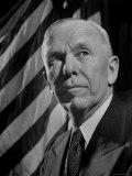 Portrait of Gen George C Marshall