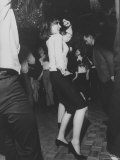 Liza Minnelli Dancing at the Il Milo DiscotecHeadquartersue on the Occasion of Her 19th Birthday