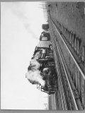 Last Steam Locomotive of Norfolk Western Railroad at Shaffers Crossing
