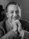 Walt Disney in Smiling Portrait