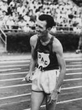 Runner Bob Schul During the US Track and Field Olympic Trials