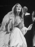 """Opera Singer Joan Sutherland in the Title Role of """"Lucia Di Lammermoor"""" at the Metropolitan Opera"""