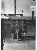 Good Still Life of Old Fashioned Desk Still in Use in Law Offices  Banks  and Commercial Firms