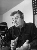 Arthur Godfrey Talking on His Radio Show
