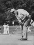 Golfer Jack Nicklaus Playing Golf