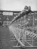 Demonstrations of Gymnastics by Russian Athletes  from Trade Union Schools