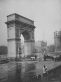 Washington Square Arch Designed by Stanford White  Washington Square Park  Greenwich Village  NYC