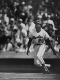 Orioles Player Frank Robinson  During Game Against the Dodgers in the World Series