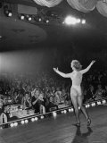 Entertainer Eleanor Powell Performing During Her Comeback Performance