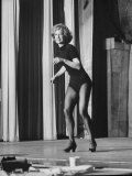 Entertainer Eleanor Powell Rehearsing for Her Comeback Performance