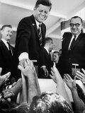 President John F Kennedy  During His Western Trip to Inspect Dams and Power Projects