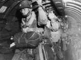 American Paratroopers During Invasion of Normandy  France aka D Day