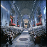 St Peter&#39;s Basilica During the 2nd Vatican Ecumenical Council of the Roman Catholic Church