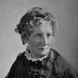 "Harriet Beecher Stowe  American Novelist and Humanitarian  Author of ""Uncle Tom's Cabin"""