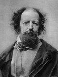 Portrait of Alfred Tennyson  English Poet
