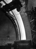 Interior of Dome  at Time of Installation of the 200 Inch Hale Telescope  at Mount Palomar