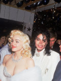 Madonna and Michael Jackson at the Academy Awards