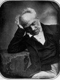 Portrait of Arthur Schopenhauer  German Philosopher