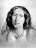 Portrait of George Eliot  English Novelist
