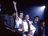 Acknowledging fans After Performance by the Rolling Stones
