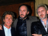 Member of the Who: Roger Daltrey  Pete Townshend and John Entwistle