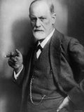 Sigmund Freud  Founder of Psychoanalysis  Smoking Cigar