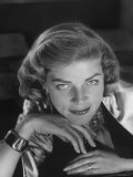 Portrait of Actress Lauren Bacall  Hollywood  Ca