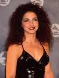 Gloria Estefan in Press Room at Grammy Awards