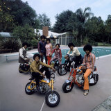 Pop Group Jackson Five: Jackie  Parents Joe and Katherine  Marlon  Tito  Jermaine and Michael