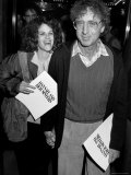 "Married Actors Gilda Radner and Gene Wilder at Film Premiere of ""Hannah and Her Sisters"""