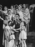 Eileen Farrell in Title Role During Debut Performance in Met Opera