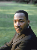 Rev Martin Luther King  at Atlanta University for SCLC Sponsored Student Conf