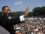 "Dr Martin Luther King Jr Giving ""I Have a Dream"" Speech During the March on Washington"
