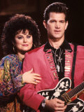 Delta Burke and Singer Chris Isaak